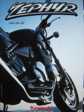 brochure KAWASAKI ZEPHYR 1100 750 550 / 1995 français
