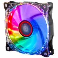 Rosewill 120mm Silent RGB Fan – Compatible with Rosewill RGB Fan Hub RGBF-17003