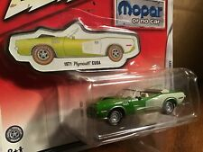 Johnny Lightning Street Freaks Blacked Out 1970 Plymouth GTX NG58