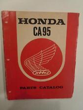 HONDA CA95 ORIGINAL GENUINE PARTS LIST CATALOG PRINT DATE 11/1966