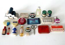 Vintage Retro Job Lot Medical Supplies Plasters Medicine Nursing Hospital Doctor