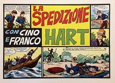 CINO E FRANCO - LA SPEDIZIONE HART (Nerbini) Ristampa Anastatica
