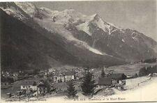 CPA  Charmonix et le Mont-Blanc    (173257)