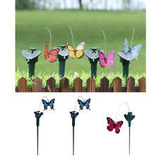 3 Stück Solar flatternde tanzende Schmetterling Einsätze Garten Outdoor