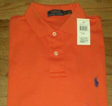 NWT Mens Polo Ralph Lauren Medium Fit Polo Shirt Pony Logo CHOICE 9 Colors *2K