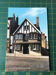 The Wakeman's House Ripon Postcard Unposted J Salmon Ltd Sevenoaks