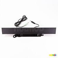 DELL AX510PA Computer Monitor Sound Bar PC Multimedia Speakers 10W Black DW711