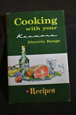 Doing More With & Cooking With Your Kenmore Electric Range Brochure *SEARS*