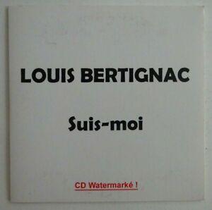 LOUIS BERTIGNAC : SUIS MOI ♦ RARE CD ALBUM PROMO ♦