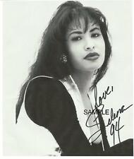 SELENA QUINTANILLA REPRINT 8X10 AUTOGRAPHED SIGNED PHOTO PICTURE MAN CAVE GIFT