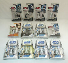 Lot Of 12 STAR WARS Figures MOC Stormtroopers Snowtroopers++ Legacy Collection