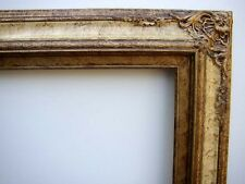 Picture Frame Fancy For 20X24 Inch Oil Painting Or Print Antiqued Gold & Cream