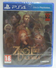 ZERO TIME DILEMMA - SONY PLAYSTATION 4 PS4 - NUOVO SIGILLATO NEW