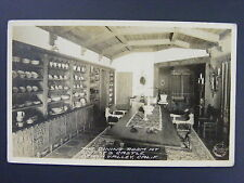 Scotty's Castle Death Valley California CA B&W Real Photo Postcard RPPC c1950