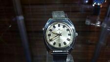 Vintage Rare Waltham Swiss Automatic 17 Jewel Mens Wrist Watch Silver Dial