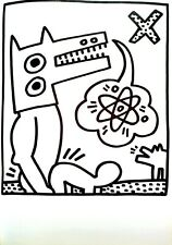 Keith Haring Untitled Lithograph from Lucio Amelio Gallery suite ed of only 300