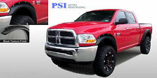 BLACK TEXTURED Pocket Style Fender Flares 2010-2016 Dodge RAM 2500 / RAM 3500