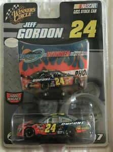 JEFF GORDON 2007 PHOENIX RACED WINNER #24 1/64 WINNERS CIRCLE CAR W/ HOOD RARE