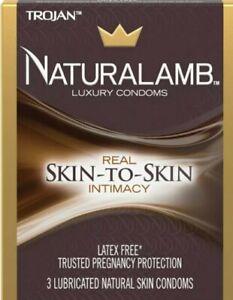 Trojan NATURALAMB , Lubricated Real Lamb Skin Condoms