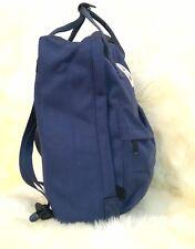 Anker Rucksack Maritim Tasche Backpack Jeans-Canvas-Stoff Schulter Uni 16L Navy