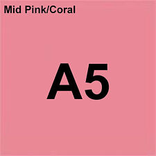 80 gsm A5 Coloraction printer & photocopier paper x 500 sheets PINK CORAL