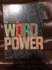 VINTAGE 1967 THE GAME OF WORD POWER by AVALON HILL - COMPLETE
