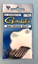 Gamakatsu Big River Bait Hooks Size 5/0  #225415