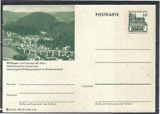 Ungeprüfte Briefmarken-Ganzsachenaus der BRD mit Ganzsache