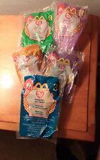 McDonald's Happy Meal Toys - TY (Brand) Stuffed Animals - 1999, 2000