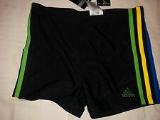 ADIDAS INFINITEX SHORTS BOXER SWIMMING SWIM NUOTO Sz 30'' I-4 BLACK