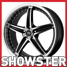 "17x7.5 17"" 5x110 MR107 Motegi Racing Tuner wheels lightweight"