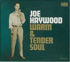 JOE HAYWOOD  Warm & Tender Soul  New Sealed R&B CD  19 songs