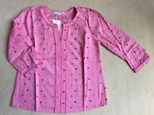 BNIP Boden Ladies Pink Embroidered Blouse/Top - Size 12