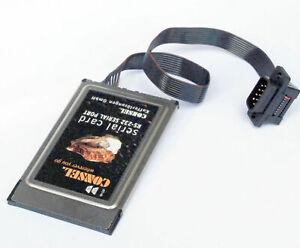 CONSEL PCMCIA CARDBUS-> RS-232 ADAPTER SERIAL KARTE 9-PIN F. WINDOWS 2000 WIN XP