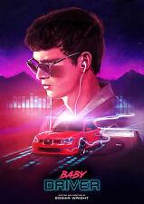 Baby Driver Alternative Movie Poster by Simon Carpenter No. /125 NT Mondo Taylor