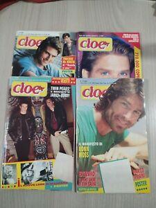 Lotto 4 Riviste Cioè Anno 1991