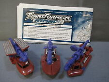 "Transformers Armada Mini-Con ""SEA TEAM"" 100% complete C9 shape 2002"