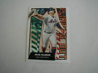 2020 TOPPS  BIG LEAGUE PETE ALONSO FLIPPING OUT CARD #FO-6 NEW YORK METS