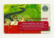 STARBUCKS GIFT CARD ~ 2005 STARBACKS GIFT CARD SUMMER ROAD TRIP CAR-247 ~ NEW
