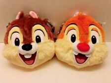 Tokyo Disney Resort Chip 'n Dale  /Chip and Dale Plush Coin Case Coin Purse TDR