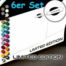 A46# Aufkleber LIMITED EDITION Motorsport Sticker Felgen Türgriff Tuning 6er Set