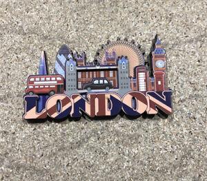 LONDON FAMOUS SIGHTS 3D FRIDGE MAGNET - AMAZING SOUVENIR