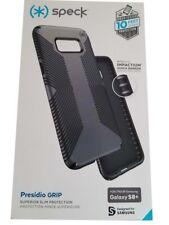 NEW Speck Samsung Galaxy S8+ Plus Presidio Grip Case - Gray & Charcoal