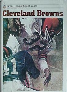 CLEVELAND BROWNS,1973 BOOK (JIM BROWN CV, OTTO GRAHAM, MARION MOTLEY, LOU GROZA+