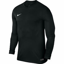 Nike Park VI Jsy Long Sleeve Senior Football Shirt Black/white XL 725884-010