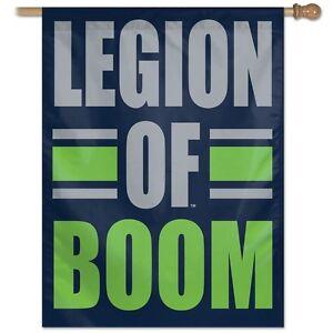"NFL Seattle Seahawks Wincraft 27"" X  37"" Vertical ""Legion of Boom"" Flag  NEW!"