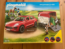 Playmobil 9376 Porsche Macan GTS with Horse Trailer and Winch