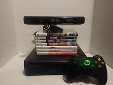Microsoft Xbox 360 Kinect Bundle 250GB with  7 games. Tested and working. xboxsk