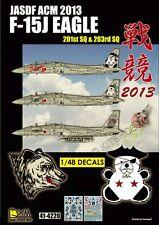 DXM decal 1/48 JASDF F-15J Eagle Air Combat Meet 2013