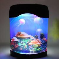 Motion Aquarium Lamp Night And Light Color Changing Ocean Moving Jellyfish Tank